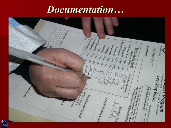 Documentation…