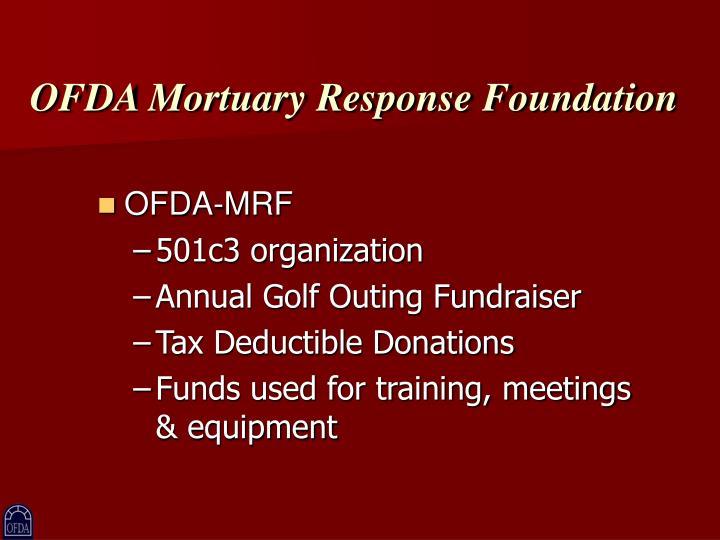 OFDA Mortuary Response Foundation