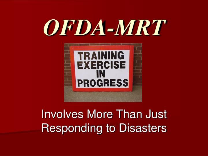 OFDA-MRT