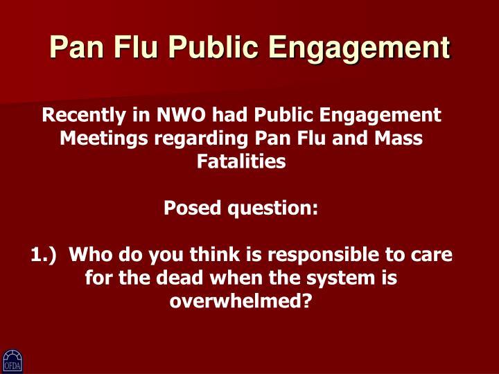 Pan Flu Public Engagement