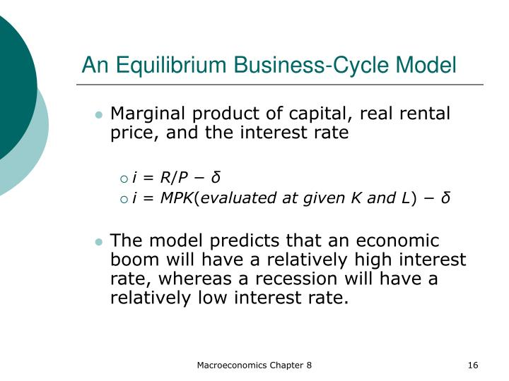 An Equilibrium Business-Cycle Model