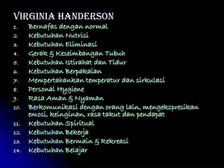 Virginia Handerson