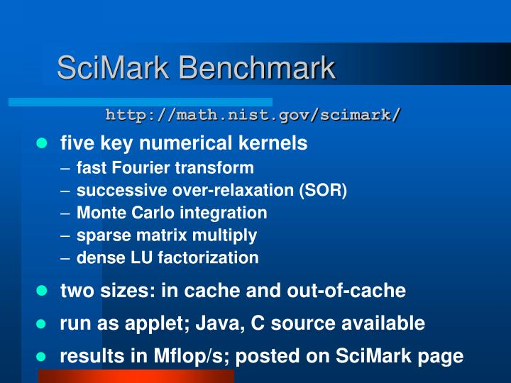 SciMark Benchmark