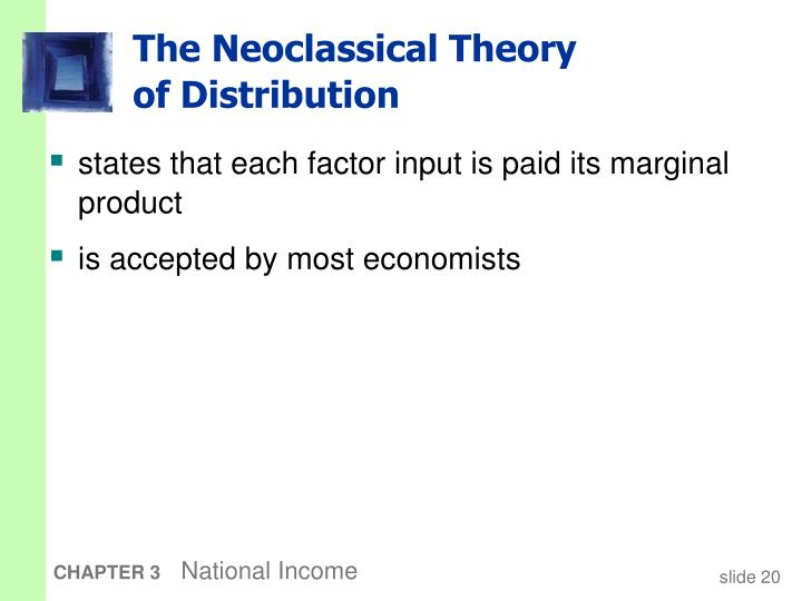 The Neoclassical Theory