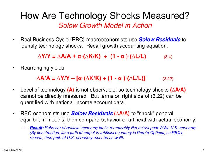 How Are Technology Shocks Measured?