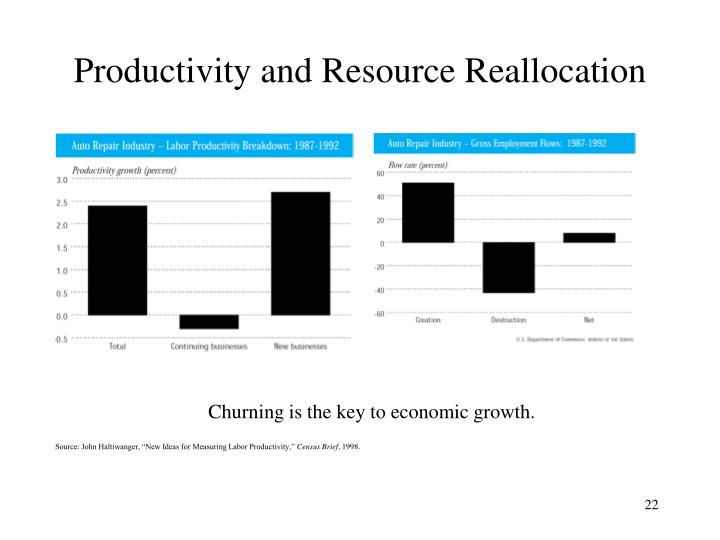 Productivity and Resource Reallocation