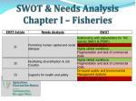 swot needs analysis chapter i fisheries2