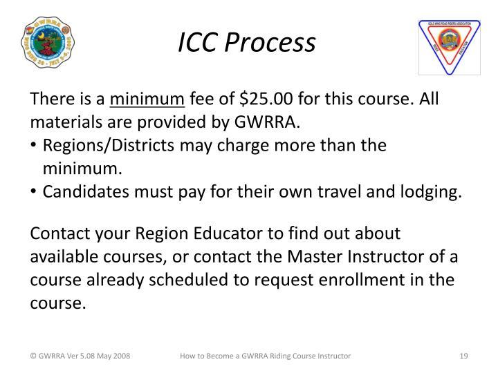 ICC Process