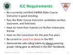 icc requirements