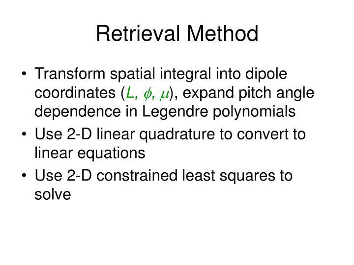 Retrieval Method