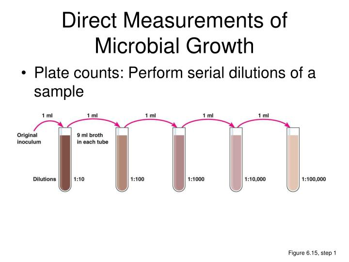 Direct Measurements of Microbial Growth