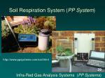 soil respiration system pp system