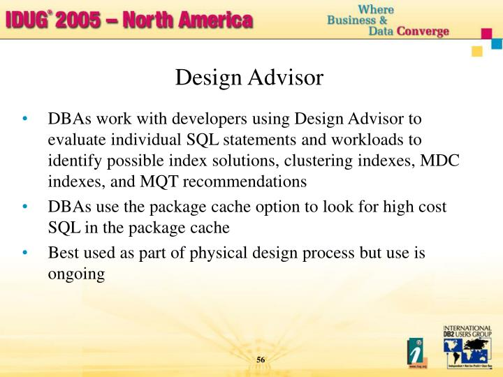Design Advisor
