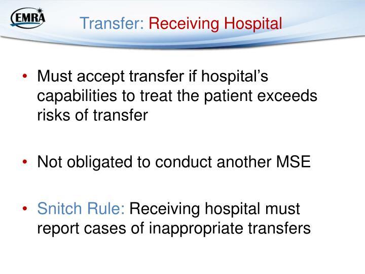 Transfer: