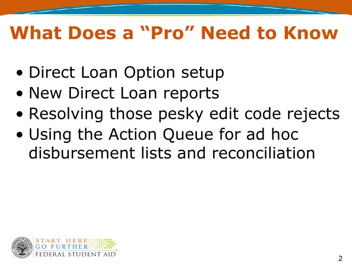 """What Does a """"Pro"""" Need to Know"""