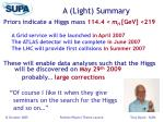 a light summary