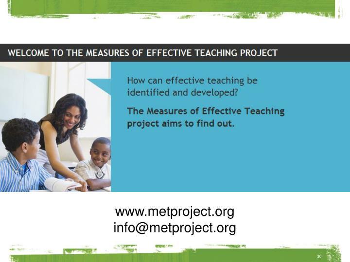 www.metproject.org