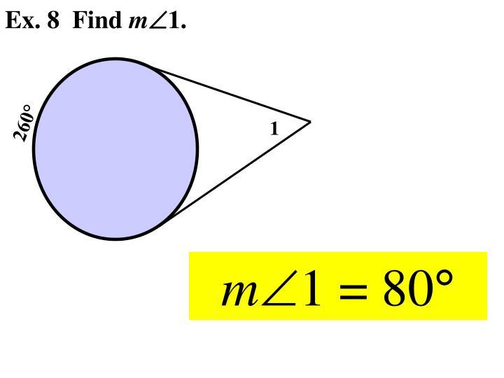 Ex. 8  Find
