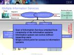 multiple information services