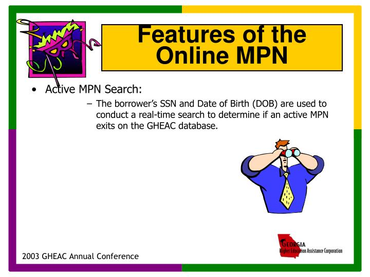 Active MPN Search: