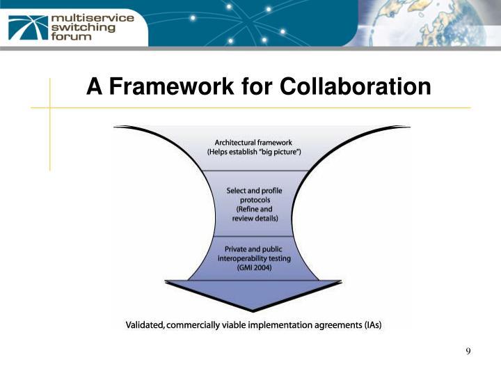 A Framework for Collaboration