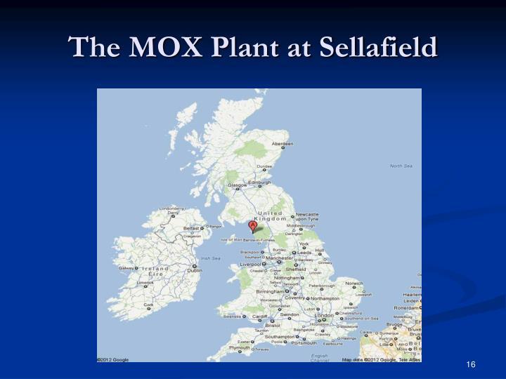 The MOX Plant at Sellafield