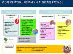 scope of work primary healthcare package