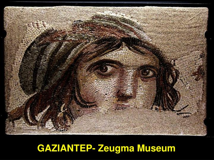 GAZIANTEP- Zeugma Museum