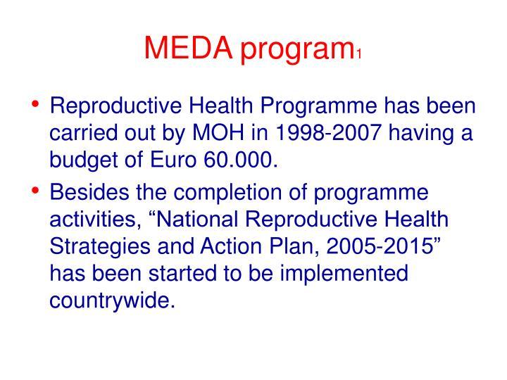 MEDA program
