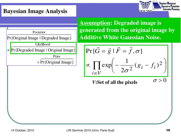 Bayesian Image Analysis