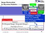 image restoration by bayesian statistics4