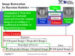 image restoration by bayesian statistics5