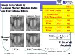 image restorations by gaussian markov random fields and conventional filters1