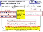 statistical performance estimation for binary markov random fields