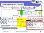 statistical performance estimation