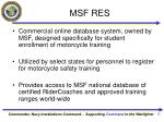msf res