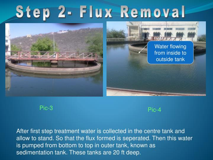 Step 2- Flux Removal
