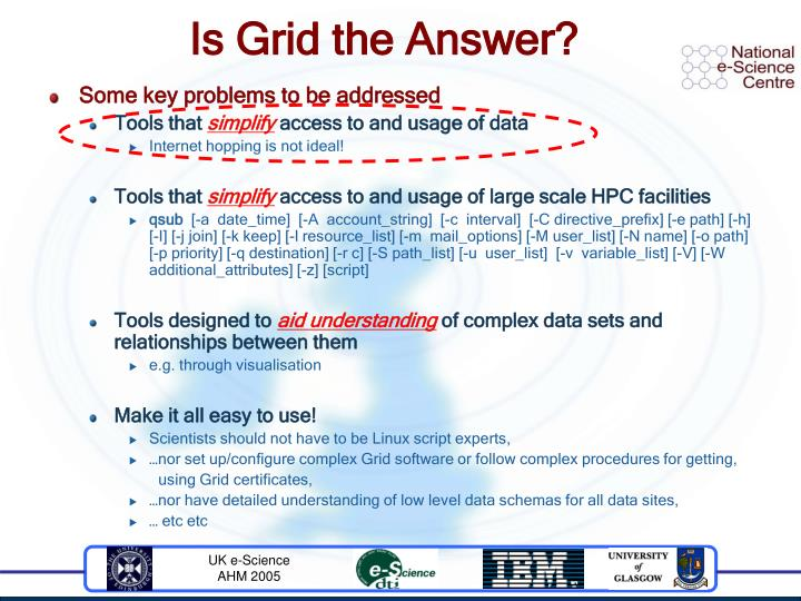 Is Grid the Answer?
