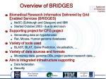 overview of bridges
