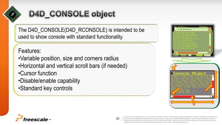 D4D_CONSOLE