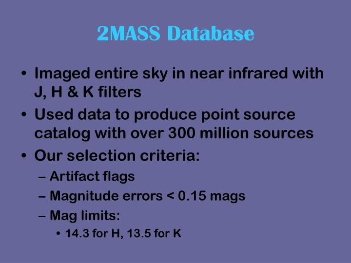 2MASS Database