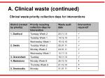 a clinical waste continued1