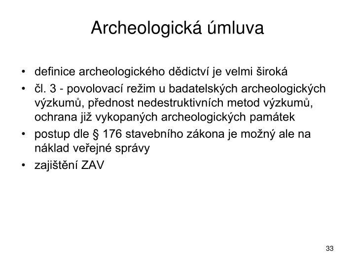 Archeologická úmluva