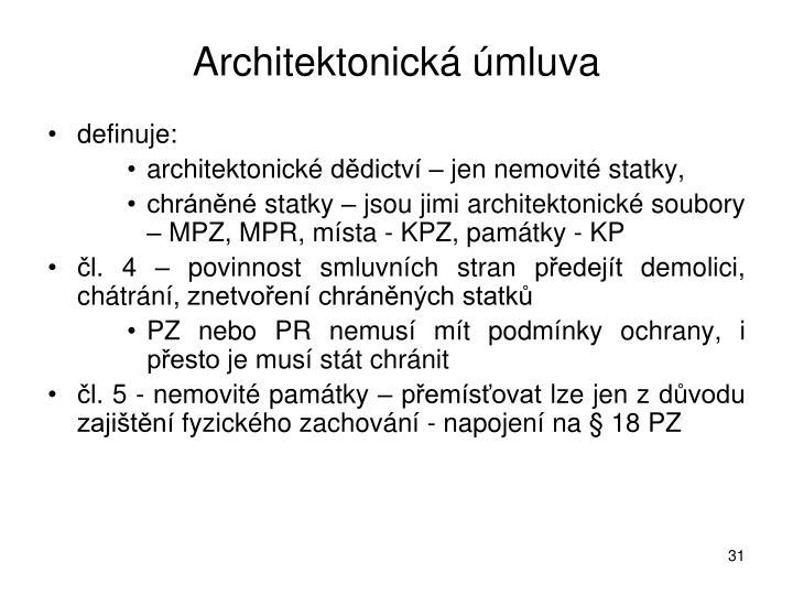 Architektonická úmluva