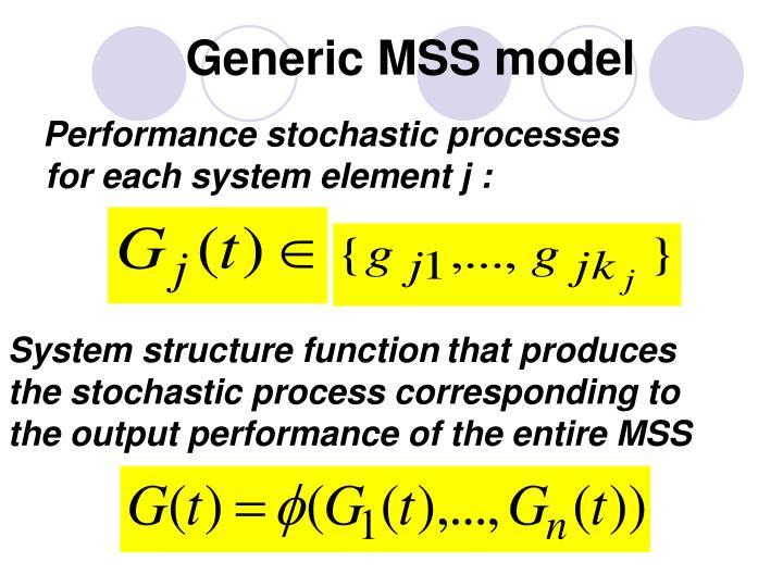Generic MSS model