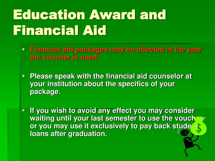Education Award and Financial Aid