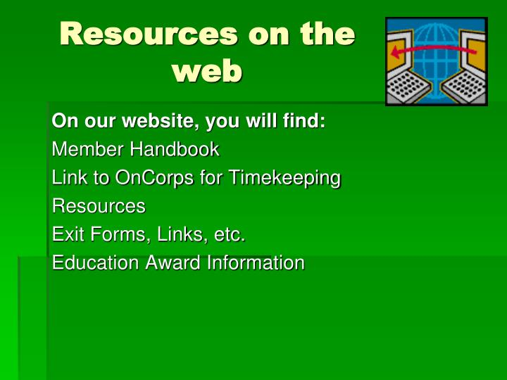 Resources on the