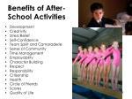 benefits of after school activities1