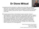 dr dione mifsud