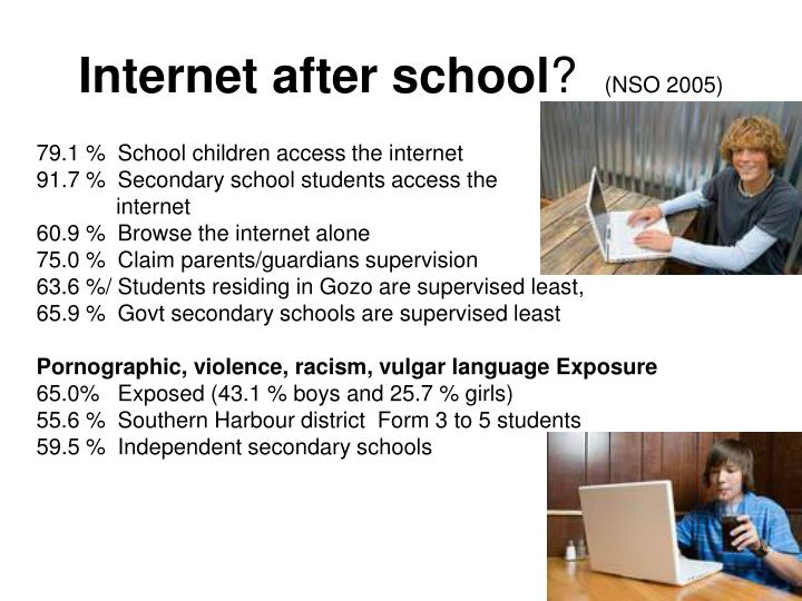Internet after school